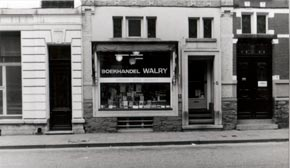 Gevel van Boekhandel Walry anno 1969