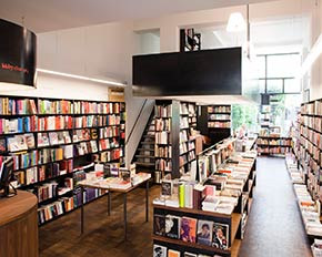 Boekhandel Walry interieur na renovatie in 2008